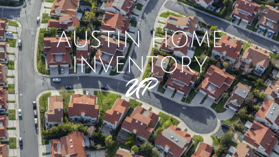 Austin Home Inventory Up